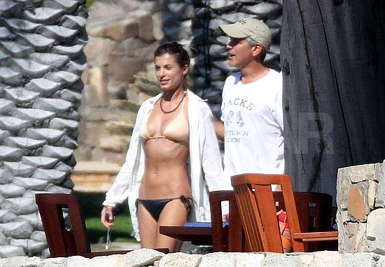 george clooney girlfriend bikini. George Clooney#39;s Girlfriend