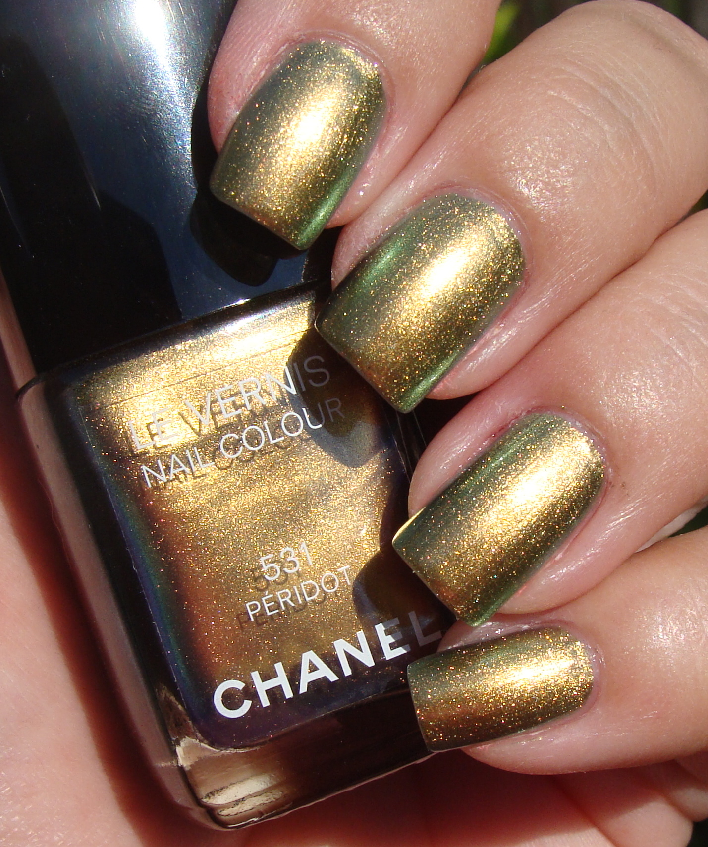 Pictures of Chanel\'s New Peridot Nail Polish | POPSUGAR Beauty