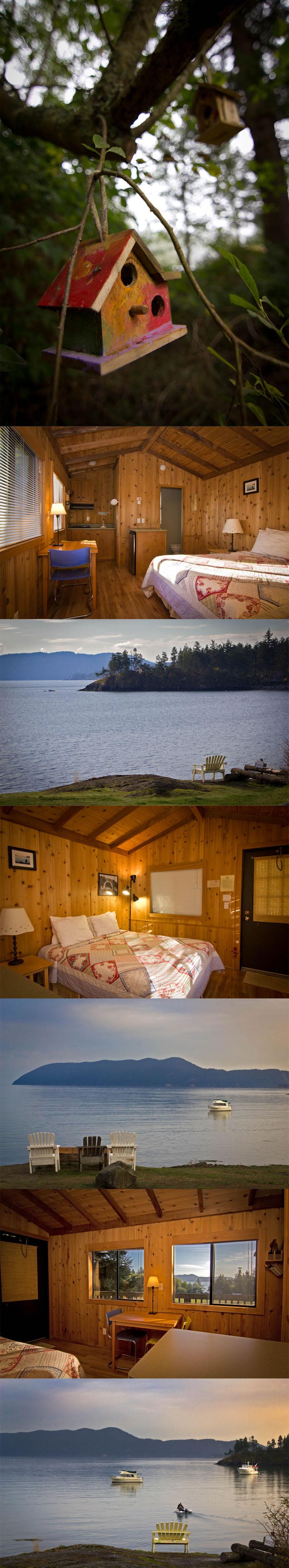 Cozy Cabins at Doe Bay